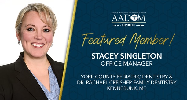Meet Our October Featured Member: Stacey Singleton