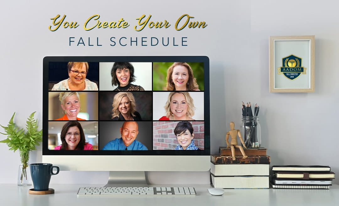 AADOM Fall Semester - Create your own fall schedule