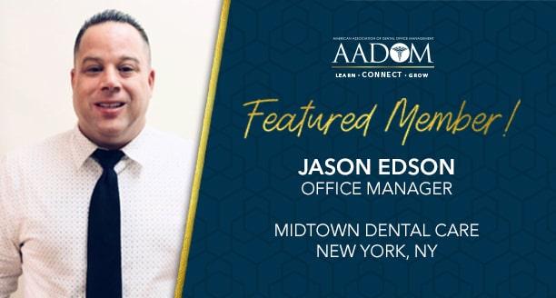 Meet Our February Featured Member: Jason Edson