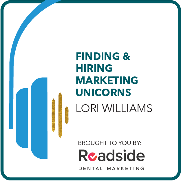 Badge showing our latest podcast episode, Finding & Hiring Marketing Unicorns