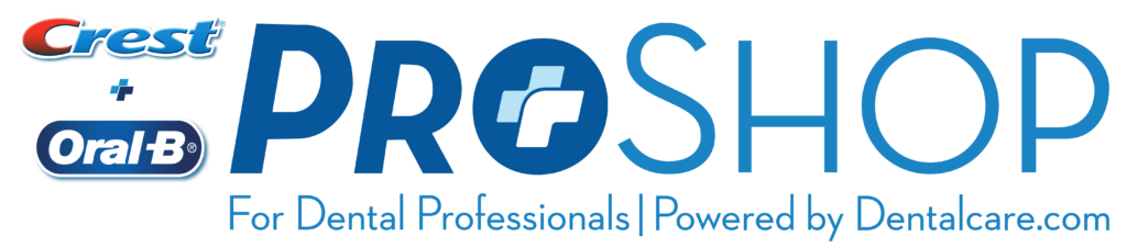The Crest and OralB ProShop logo