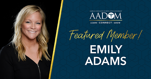 Celebrating our July Featured Member – Emily Adams