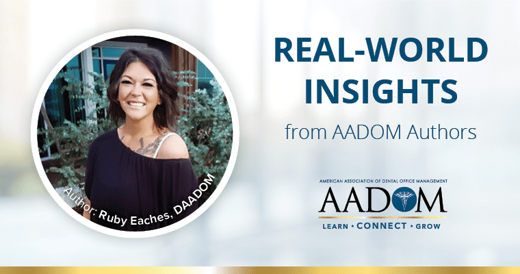 Why Should Dental Office Managers Join AADOM?